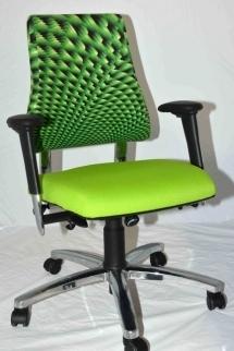 Groene bureaustoel